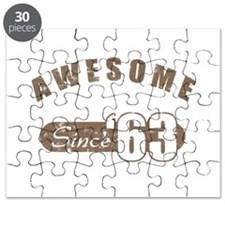 Awesome Since 1963 Puzzle