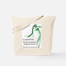 Llamatude Green Tote Bag