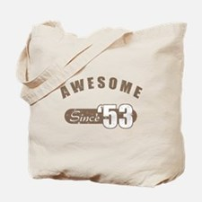 Awesome Since 1953 Tote Bag