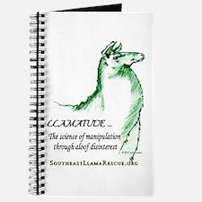 Llamatude Green Journal