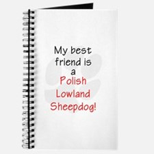 My best friend is a Polish Lowland Sheepdog Journa