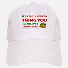 South African smiley designs Baseball Baseball Cap
