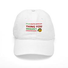 South African smiley designs Baseball Cap