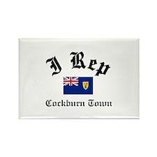 I rep Cockburn Town Rectangle Magnet
