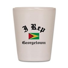 I rep Georgetown Shot Glass