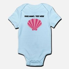 Custom Pink Oyster Shell Body Suit