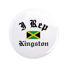 "I rep Kingston 3.5"" Button (100 pack)"