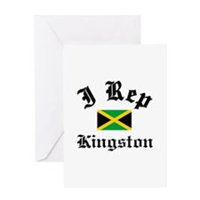 I rep Kingston Greeting Card
