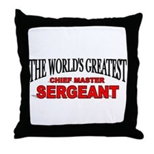 """""""The World's Greatest Chief Master Sergeant"""" Throw"""