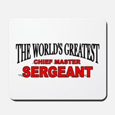 """The World's Greatest Chief Master Sergeant"" Mouse"