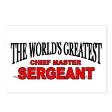 """The World's Greatest Chief Master Sergeant"" Postc"