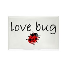 love bug 2 Rectangle Magnet