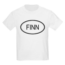 Finn Oval Design Kids T-Shirt