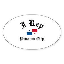 I rep Panama Decal