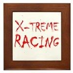 Extreme Racing Framed Tile