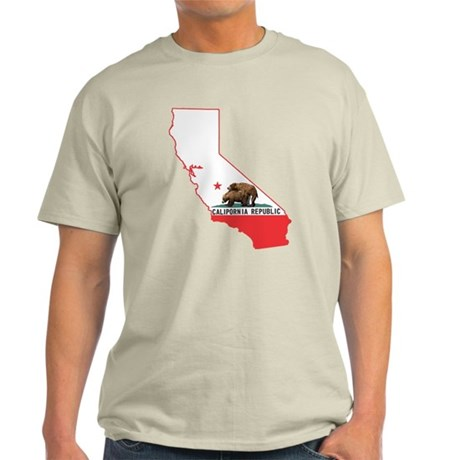 CALIPORNIA state outline Light T-Shirt