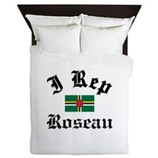 I rep Roseau Queen Duvet