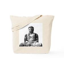 Retro Buddha Tote Bag