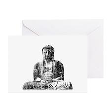 Retro Buddha Greeting Cards (Pk of 10)