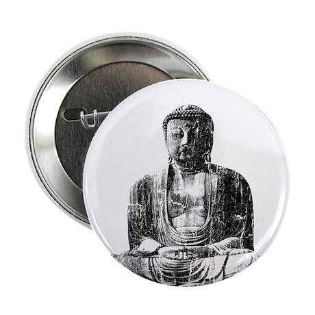 "Retro Buddha 2.25"" Button (10 pack)"