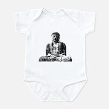 Retro Buddha Infant Bodysuit