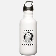 Space Cowboy Water Bottle
