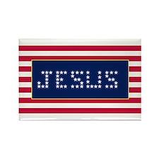 JESUS#3 Rectangle Magnet
