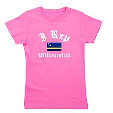 I rep Willemstad Girl's Tee