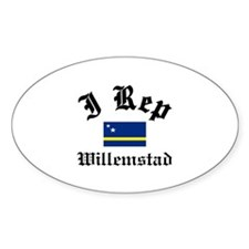 I rep Willemstad Decal