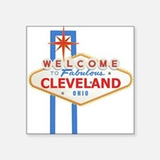Welcome to Cleveland Sticker