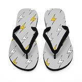 Lightning bolt Flip Flops