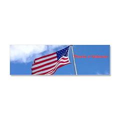 Thank the American Veteran Car Magnet