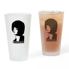 Angela's Liberation Drinking Glass