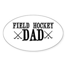 Field Hockey Dad Decal