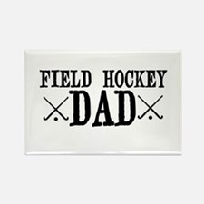 Field Hockey Dad Rectangle Magnet