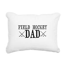 Field Hockey Dad Rectangular Canvas Pillow