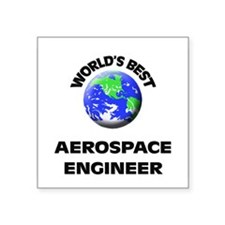 World's Best Aerospace Engineer Sticker