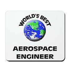 World's Best Aerospace Engineer Mousepad
