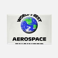 World's Best Aerospace Engineer Rectangle Magnet