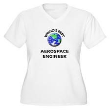 World's Best Aerospace Engineer Plus Size T-Shirt