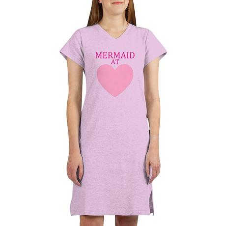 Mermaid at Heart Women's Nightshirt