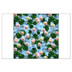 Waterlily reflections Posters