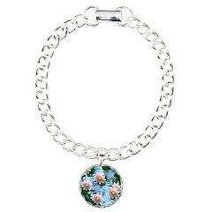 Waterlily reflections Bracelet