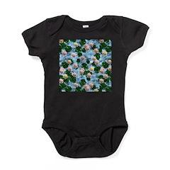 Waterlily reflections Baby Bodysuit