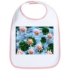 Waterlily reflections Bib