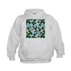 Waterlily reflections Hoodie