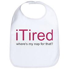 iTired Where's my nap? Bib