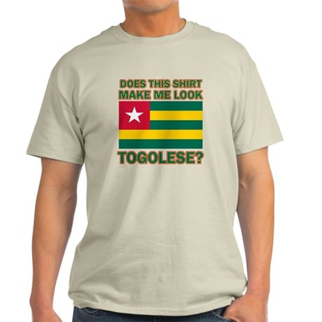 Patriotic Togolese designs Light T-Shirt