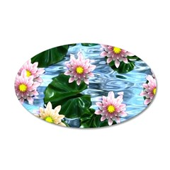 Waterlily reflections Wall Decal