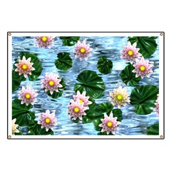Waterlily reflections Banner